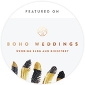 wedding photography published on boho weddings uk